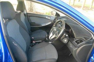 2012 Hyundai Accent RB Active Blue 5 Speed Manual Sedan