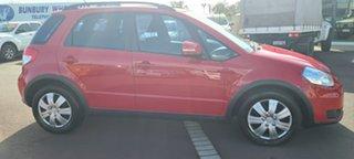 2012 Suzuki SX4 GYA MY11 Red 6 Speed Constant Variable Hatchback