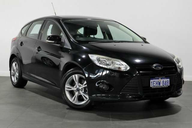Used Ford Focus LW MkII Trend Bayswater, 2013 Ford Focus LW MkII Trend Black 5 Speed Manual Hatchback
