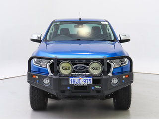 2017 Ford Ranger PX MkII MY18 XLT 3.2 (4x4) Blue 6 Speed Automatic Double Cab Pick Up.