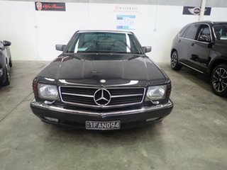 1987 Mercedes-Benz 560 SEC Black Crystal 4 Speed Automatic Coupe.