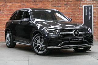 2020 Mercedes-Benz GLC-Class X253 800+050MY GLC300 9G-Tronic 4MATIC Graphite Grey 9 Speed.