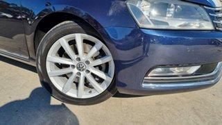 2010 Volkswagen Passat Type 3C MY10.5 125TDI DSG Highline Blue 6 Speed Sports Automatic Dual Clutch.