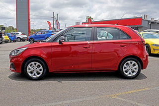 2021 MG MG3 SZP1 MY21 Core Red 4 Speed Automatic Hatchback