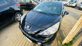 2008 Peugeot 207 A7 CC Black 4 Speed Sports Automatic Cabriolet