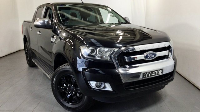 Used Ford Ranger PX MkII XLT Double Cab Elizabeth, 2015 Ford Ranger PX MkII XLT Double Cab Black 6 Speed Sports Automatic Utility