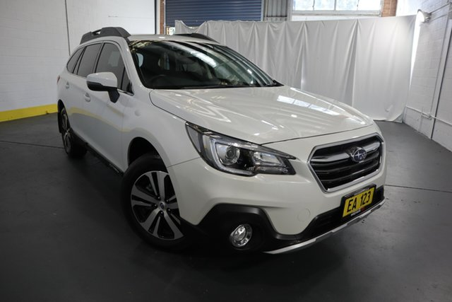 Used Subaru Outback B6A MY18 2.5i CVT AWD Castle Hill, 2018 Subaru Outback B6A MY18 2.5i CVT AWD White 7 Speed Constant Variable Wagon