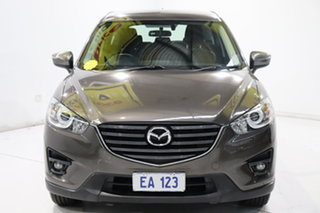 2015 Mazda CX-5 KE1072 Maxx SKYACTIV-Drive Sport Grey 6 Speed Sports Automatic Wagon.