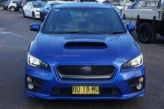 2015 Subaru WRX V1 MY15 Premium AWD Blue 6 Speed Manual Sedan.