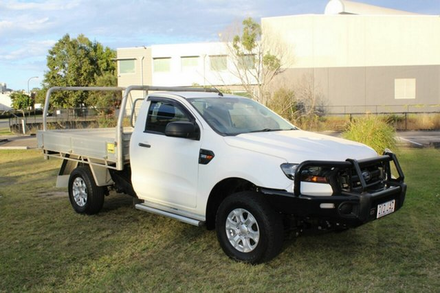 Used Ford Ranger PX MkII 2018.00MY XL Ormeau, 2018 Ford Ranger PX MkII 2018.00MY XL White 6 Speed Sports Automatic Cab Chassis
