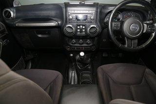 2013 Jeep Wrangler JK MY2013 Unlimited Sport Black 6 Speed Manual Softtop