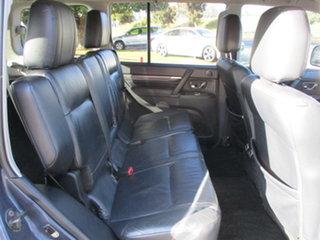 2007 Mitsubishi Pajero NS Exceed Blue 5 Speed Automatic Wagon
