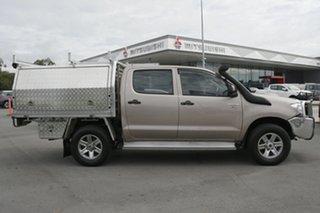 2009 Toyota Hilux KUN26R MY09 SR Grey 4 Speed Automatic Utility.