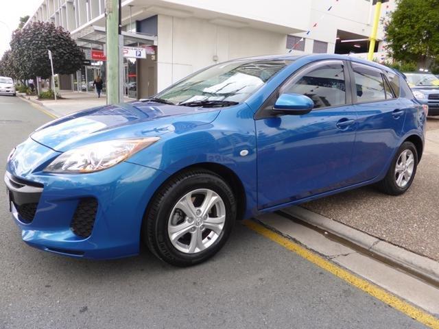 Used Mazda 3 BL 11 Upgrade Neo Southport, 2012 Mazda 3 BL 11 Upgrade Neo Blue 5 Speed Automatic Hatchback