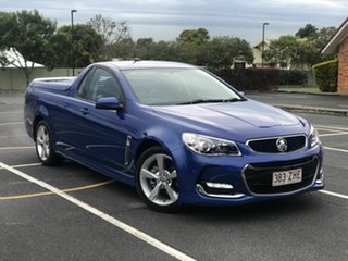 2015 Holden Ute VF II MY16 SV6 Ute Blue 6 Speed Sports Automatic Utility.