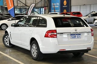 2016 Holden Commodore VF II Evoke Heron White 6 Speed Automatic Sportswagon.