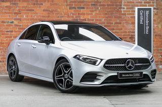 2021 Mercedes-Benz A-Class V177 801+051MY A180 DCT Silver, Chrome 7 Speed.