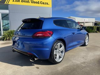 2013 Volkswagen Scirocco 1S MY14 R Coupe DSG Blue/311014 6 Speed Sports Automatic Dual Clutch.