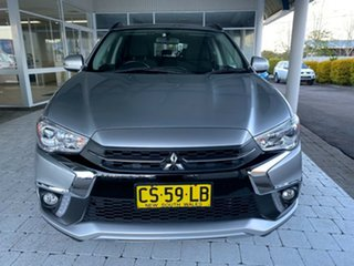 2017 Mitsubishi ASX LS Silver Constant Variable Wagon.