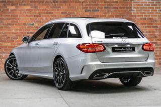 2020 Mercedes-Benz C-Class S205 800+050MY C300 Estate 9G-Tronic Iridium Silver 9 Speed.