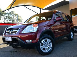 2004 Honda CR-V RD MY2004 Sport 4WD Red 4 Speed Automatic Wagon