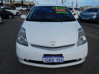2005 Toyota Prius NHW20R White 1 Speed Constant Variable Liftback Hybrid.