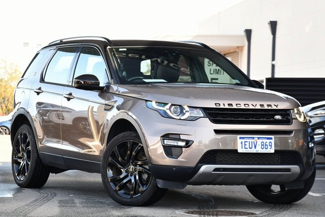 Used Land Rover Discovery Sport L550 16MY HSE Clarkson, 2015 Land Rover Discovery Sport L550 16MY HSE Bronze 9 Speed Sports Automatic Wagon