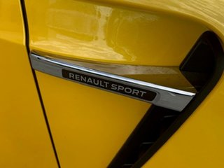 2019 Renault Megane BFB R.S. EDC Sport Yellow 6 Speed Sports Automatic Dual Clutch Hatchback.