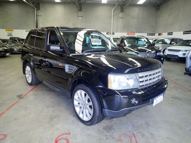 Used Land Rover Range Rover MY07 Sport 2.7 TDV6 Wangara, 2007 Land Rover Range Rover MY07 Sport 2.7 TDV6 Java Black 6 Speed Auto Sequential Wagon