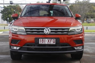 2016 Volkswagen Tiguan 5N MY17 162TSI DSG 4MOTION Highline Habanero Orange 7 Speed