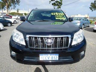 2011 Toyota Landcruiser Prado GRJ150R GXL Black 5 Speed Sports Automatic Wagon.
