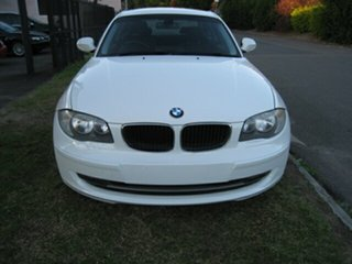 2011 BMW 123d E82 MY12 White 6 Speed Automatic Coupe.