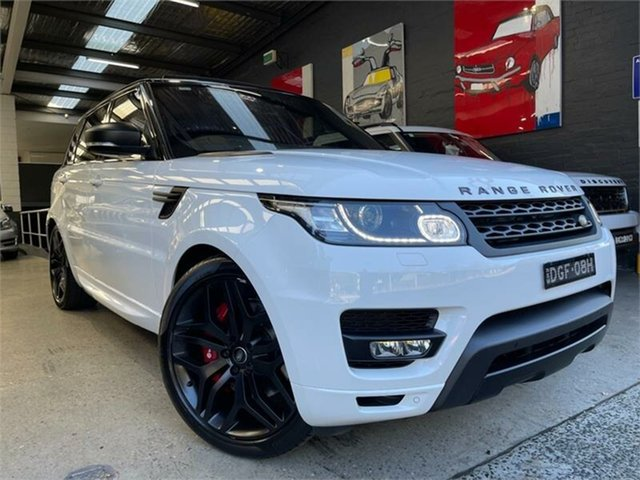 Used Land Rover Range Rover Sport L494 HSE Dynamic Glebe, 2016 Land Rover Range Rover Sport L494 HSE Dynamic White Sports Automatic Wagon