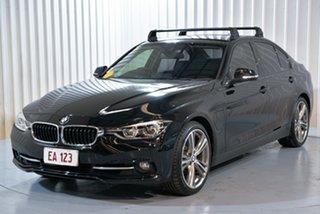 2016 BMW 3 Series F30 LCI 330e Sport Line Black 8 Speed Sports Automatic Sedan Hybrid.