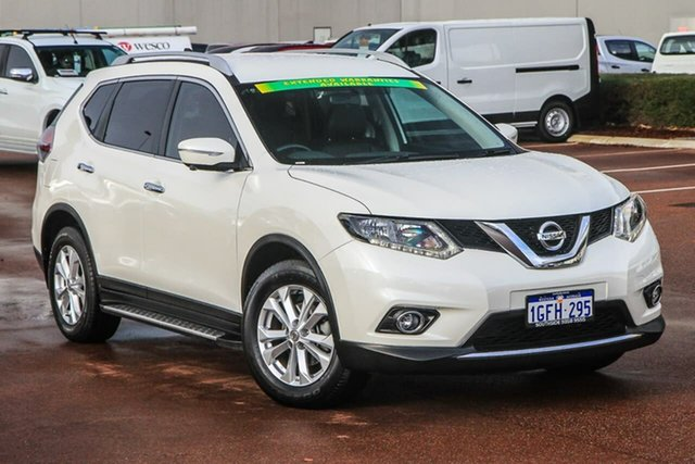 Used Nissan X-Trail T32 ST-L X-tronic 2WD Cannington, 2016 Nissan X-Trail T32 ST-L X-tronic 2WD White 7 Speed Constant Variable Wagon