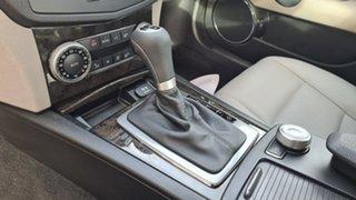 2008 Mercedes-Benz C200 W204 Kompressor Avantgarde Obsidian Black 5 Speed Auto Tipshift Sedan