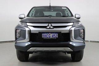 2020 Mitsubishi Triton MR MY20 GLX-R (4x4) Grey 6 Speed Automatic Double Cab Pick Up.