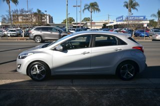 2016 Hyundai i30 GD4 Series 2 Active X Silver 6 Speed Automatic Hatchback