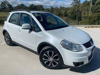 2011 Suzuki SX4 GYA MY11 White 6 Speed Constant Variable Hatchback.