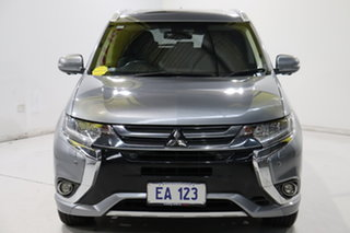 2017 Mitsubishi Outlander ZK MY18 Exceed PHEV Grey 1 Speed Automatic Wagon.