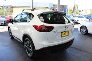 2017 Mazda CX-5 KE1032 Akera SKYACTIV-Drive i-ACTIV AWD White 6 Speed Sports Automatic Wagon