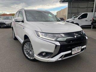 2018 Mitsubishi Outlander ZL MY19 PHEV AWD ES ADAS White 1 Speed Automatic Wagon Hybrid.