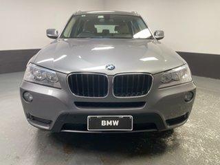 2013 BMW X3 F25 MY1112 xDrive20d Steptronic Grey 8 Speed Automatic Wagon.