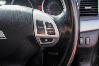 2011 Mitsubishi Lancer CJ MY11 SX Grey 6 Speed Constant Variable Sedan