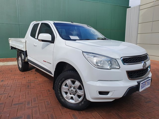 Used Holden Colorado RG MY15 LT Crew Cab Victoria Park, 2015 Holden Colorado RG MY15 LT Crew Cab White 6 Speed Sports Automatic Utility