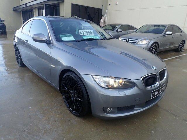 Used BMW 325i E92 MY09 Wangara, 2009 BMW 325i E92 MY09 Dolphin Grey 6 Speed Auto Steptronic Coupe