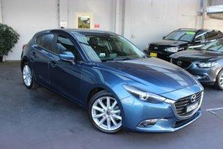 2017 Mazda 3 BN5438 SP25 SKYACTIV-Drive GT Blue 6 Speed Sports Automatic Hatchback.