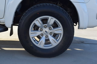 2010 Ford Ranger PK XLT Crew Cab 4x2 Hi-Rider White 5 Speed Manual Utility