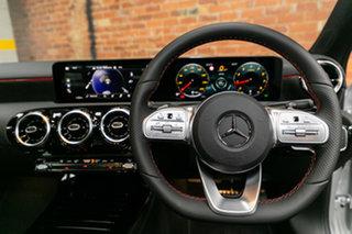 2021 Mercedes-Benz A-Class V177 801+051MY A180 DCT Silver, Chrome 7 Speed