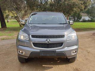 2015 Holden Colorado RG MY15 LTZ Crew Cab Grey 6 Speed Manual Utility.